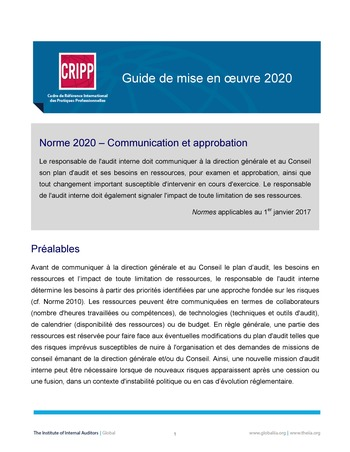 GM 2020 - Communication et approbation  page 1