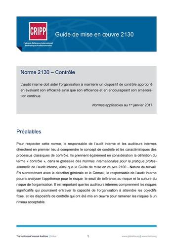 GM 2130 - Contrôle page 1