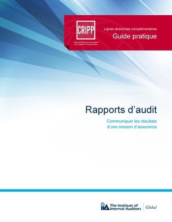 Rapports d'audit page 1