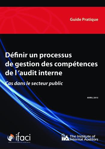 Définir un processus de gestion des compétences de l'audit interne dans le secteur public page 1