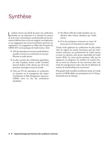 Apprentissage permanent des auditeurs internes page 4