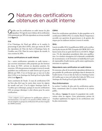 Apprentissage permanent des auditeurs internes page 8