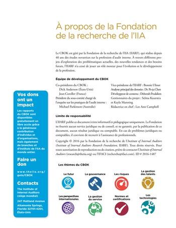 Top 7 des compétences recherchées par les responsables de l'audit interne page 16