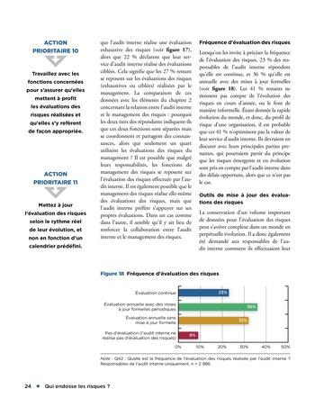 Qui endosse les risques? page 24