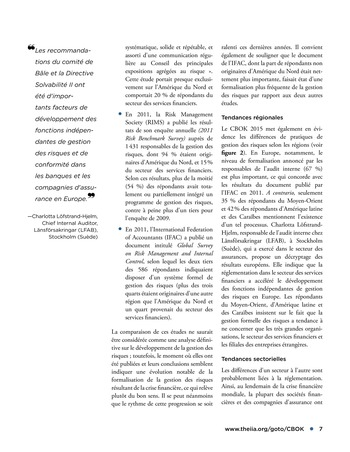 Qui endosse les risques? page 7