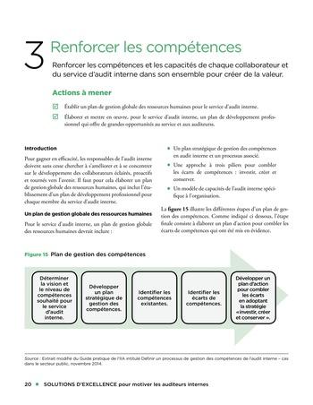 Solutions d'excellence pour motiver les auditeurs internes page 20