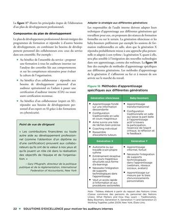 Solutions d'excellence pour motiver les auditeurs internes page 22