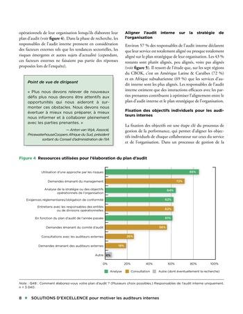 Solutions d'excellence pour motiver les auditeurs internes page 8