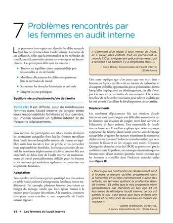 Les femmes et l'audit interne page 34
