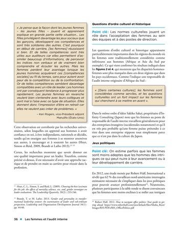 Les femmes et l'audit interne page 36
