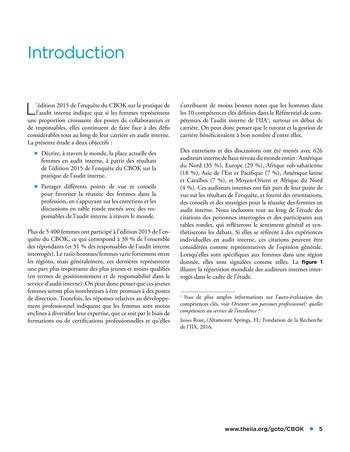 Les femmes et l'audit interne page 5