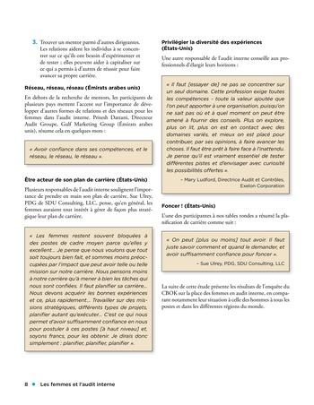 Les femmes et l'audit interne page 8
