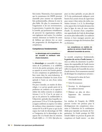 Orienter son parcours professionnel page 10