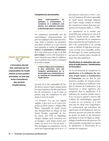 Orienter son parcours professionnel page 12