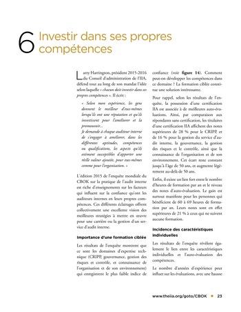 Orienter son parcours professionnel page 23