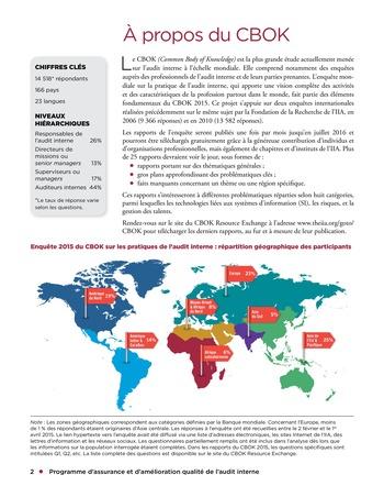 Programme d'assurance et d'amélioration qualité de l'audit interne page 2