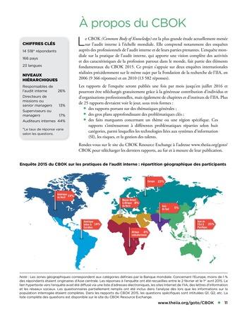 Recours aux services de tiers pour les activités d'audit interne page 11