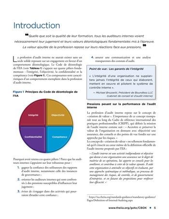 Déontologie et pressions page 5