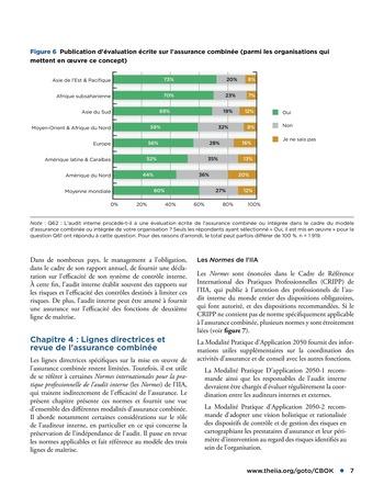 Assurance combinée: une même terminologie, une même voix, une même vision page 7