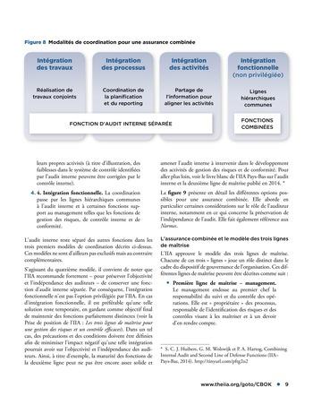 Assurance combinée: une même terminologie, une même voix, une même vision page 9