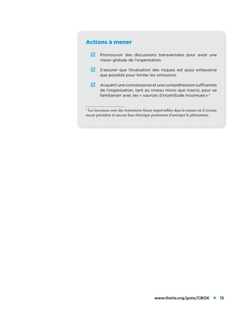 Etude comparative de la maturité de l'audit interne page 15