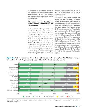 Etude comparative de la maturité de l'audit interne page 25