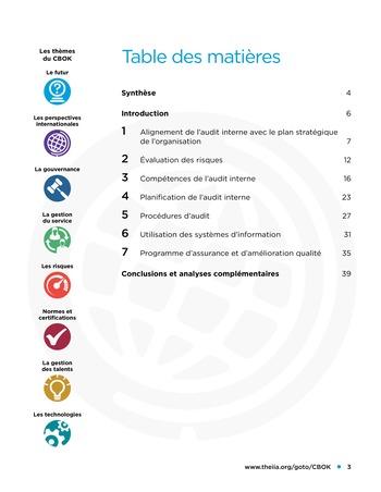 Etude comparative de la maturité de l'audit interne page 3