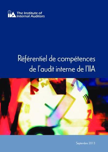 Référentiel de compétences de l'audit interne de l'IIA page 1