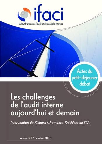 Les challenges de l'audit interne aujourd'hui et demain page 1