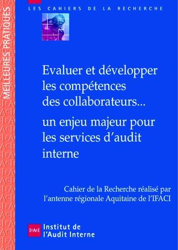 Evaluer et développer les compétences des collaborateurs... un enjeu majeur pour les services d'audit interne page 1