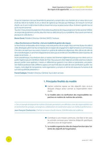 Adapter l'organisation de l'entreprise pour une gestion efficiente des risques et des opportunités dans une entreprise de taille intermédiaire page 7