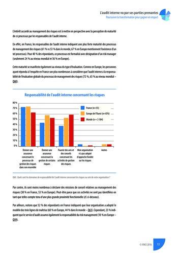 L'audit interne vu par ses parties prenantes - Rapport détaillé page 14