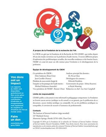 Promouvoir et soutenir l'efficacité de la gouvernance de l'organisation page 40
