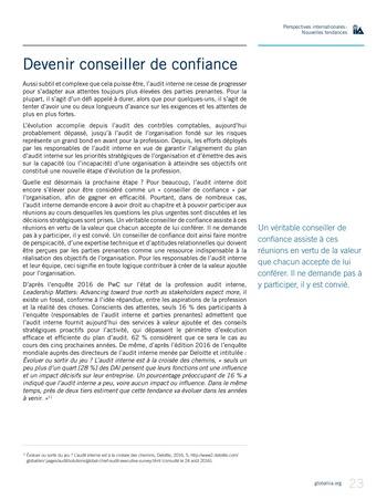 Perspectives Internationales - Nouvelles tendances page 23
