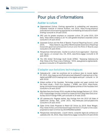 Perspectives Internationales - Nouvelles tendances page 30