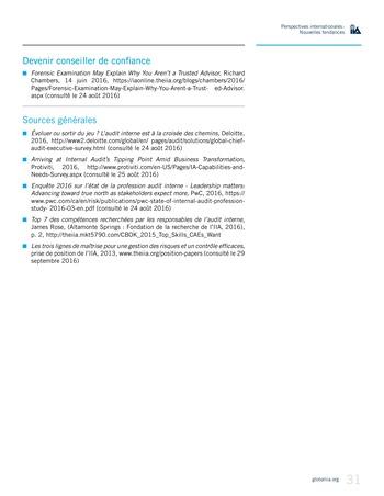 Perspectives Internationales - Nouvelles tendances page 31