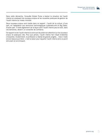 Perspectives Internationales - Nouvelles tendances page 5