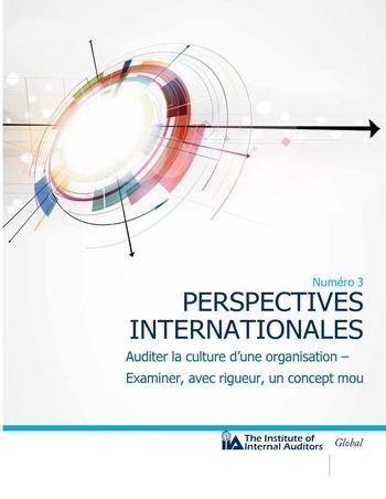 Perspectives internationales - Auditer la culture d'une organisation : examiner, avec rigueur, un concept mou page 1