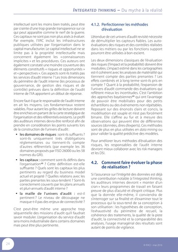Integrated Thinking - du mythe à la réalité page 25