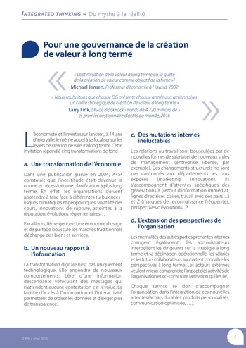 Integrated Thinking - du mythe à la réalité page 4