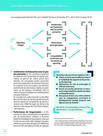 Améliorer le reporting intégré - La valeur ajoutée de l'audit interne page 10