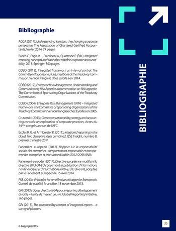 Améliorer le reporting intégré - La valeur ajoutée de l'audit interne page 41