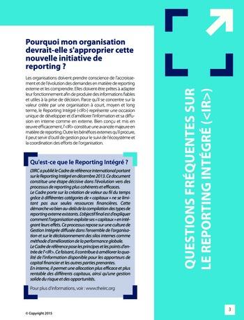 Améliorer le reporting intégré - La valeur ajoutée de l'audit interne page 9