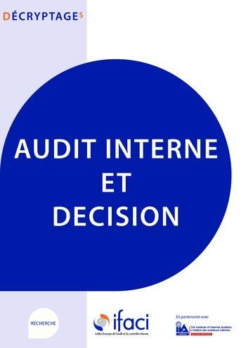 Audit interne et décision page 1