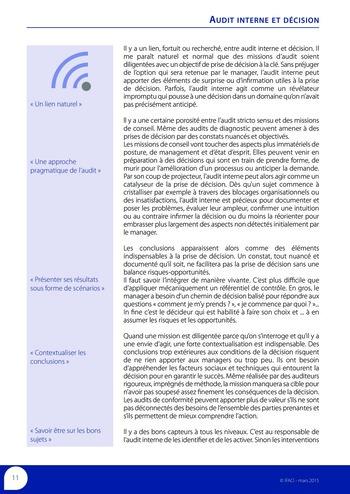 Audit interne et décision page 13