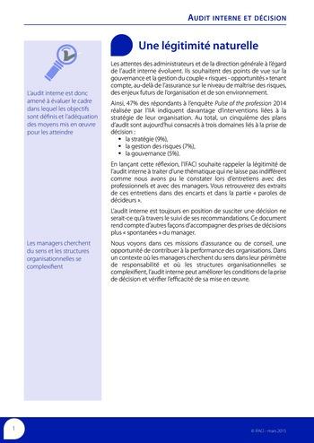 Audit interne et décision page 3