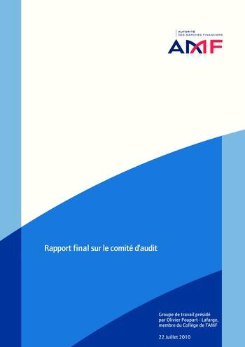 Rapport final sur le comité d'audit / AMF page 1
