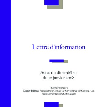 Club de l'IFACI – Invité Claude Bébéar page 1