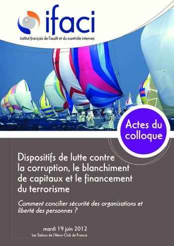 Dispositifs de lutte contre la corruption, le blanchiment de capitaux et le financement du terrorisme page 1