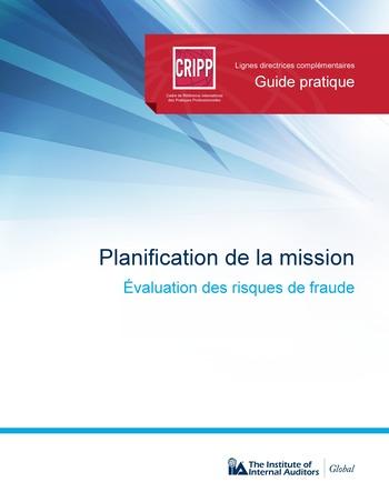 Planification de la mission : évaluation des risques de fraude page 1